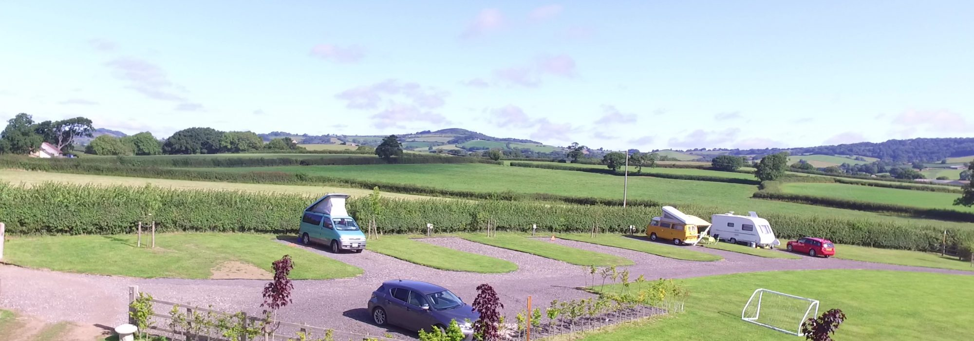 5 pitches and parking and view